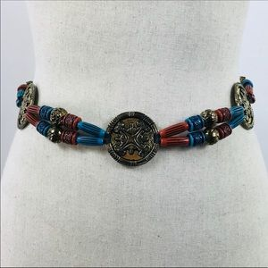 Medallion Bead Chain Belt